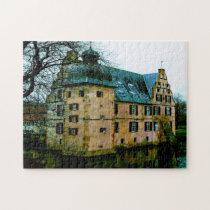 Castle Bodelschwingh Geramny. Jigsaw Puzzle