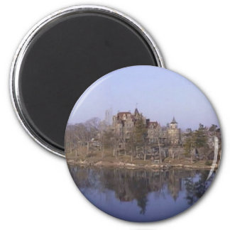 Castle Boldt on the Great Lakes 2 Inch Round Magnet