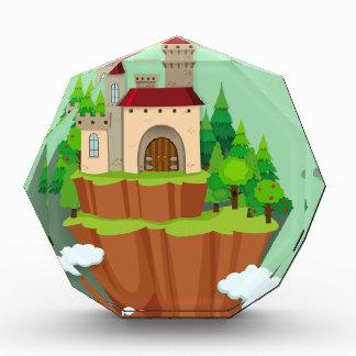 Castle building on the mountain award