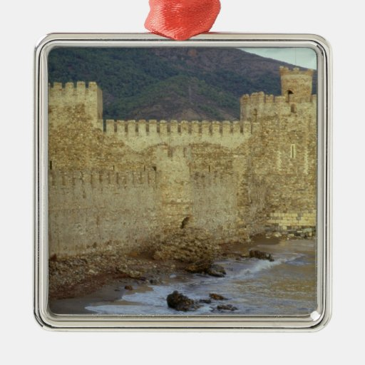 Castle, built by the Crusaders Christmas Ornaments