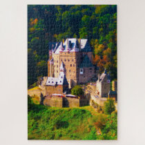 Castle Burg Eltz Germany. Jigsaw Puzzle