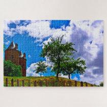 Castle Burgruine Germany. Jigsaw Puzzle