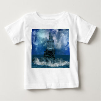 Castle by Stormy Sea Baby T-Shirt