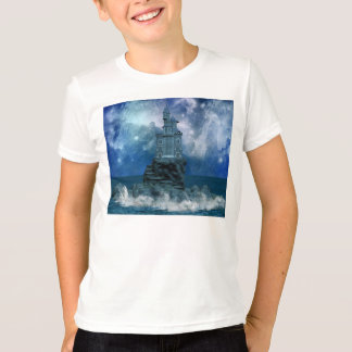 Castle by Stormy Sea T-Shirt