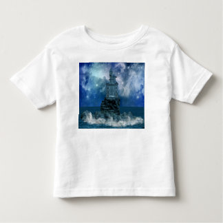 Castle by Stormy Sea Toddler T-shirt