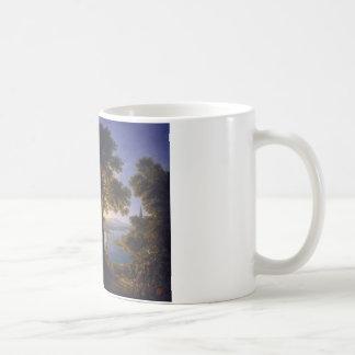 Castle by the River 1820 by Karl Friedrich Schinke Coffee Mug