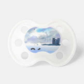 Castle By the Sea Pacifier