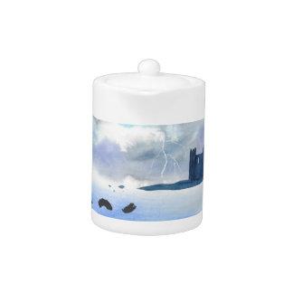 Castle By the Sea Teapot