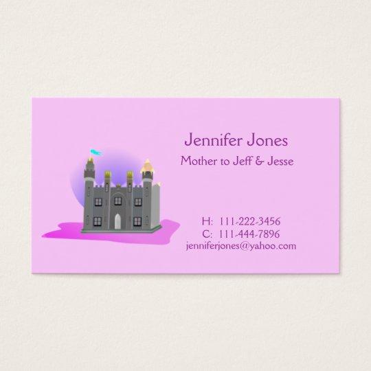 Castle Calling Card