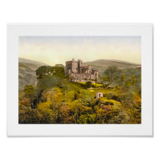 Castle Campbell, Dollar Scotland Poster