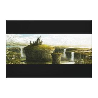 Castle… Canvas Print