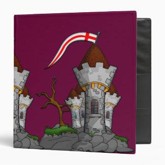 Castle, Castle 3 Ring Binder