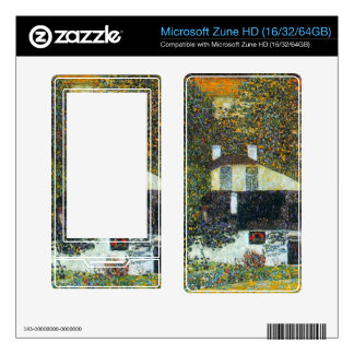 Castle Chamber at Attersee II by Gustav Klimt Decals For Zune HD