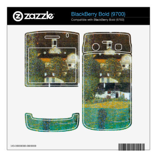 Castle Chamber at Attersee II by Gustav Klimt BlackBerry Bold Decals