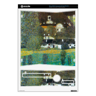 Castle Chamber at Attersee II by Gustav Klimt Xbox 360 S Skin