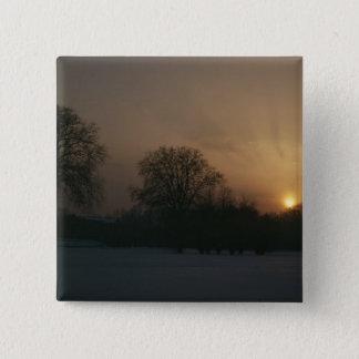 Castle Charlottenhof, Sunset Pinback Button