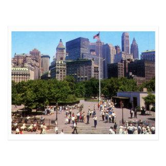 Castle Clinton, Battery Park, New York City Vintag Postcard