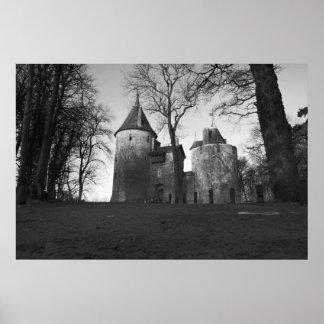 Castle Coch, Wales Poster