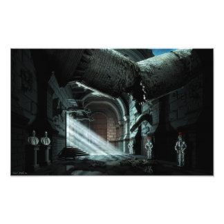 Castle Corridor Photo Art