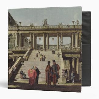 Castle Courtyard, 1762 Binder