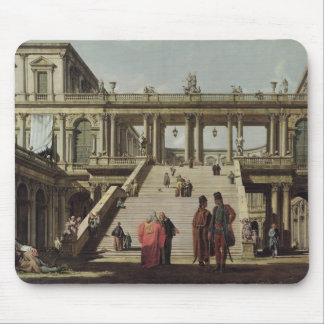 Castle Courtyard, 1762 Mouse Pad