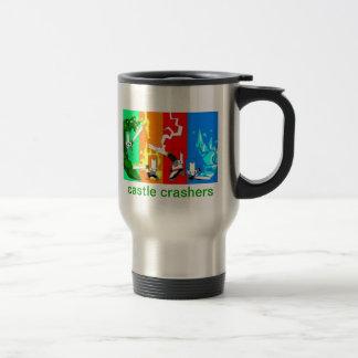 CASTLE CRASHER CUP!!! TRAVEL MUG