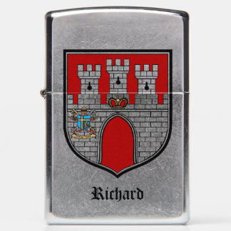 Castle Crest Personalized Zippo Lighter