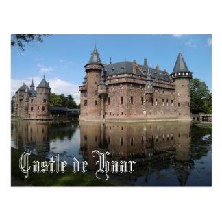 Castle de Haar, Utrecht, Netherlands Postcard