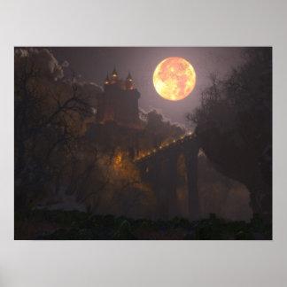 Castle Dracula (24x18) Poster
