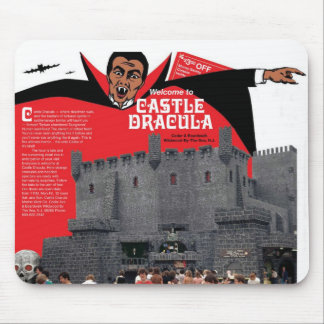 Castle Dracula in Wildwood, New Jersey Mouse Pads
