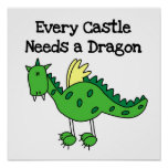 Castle Dragon Poster