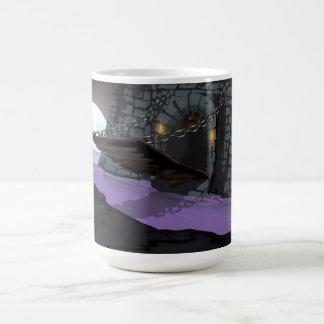Castle Drawbridge and Moat Classic White Coffee Mug