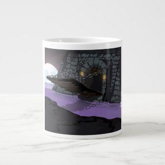 Castle Drawbridge and Moat 20 Oz Large Ceramic Coffee Mug