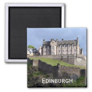 castle edinburgh 2 inch square magnet