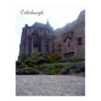 castle edinburgh interior post cards