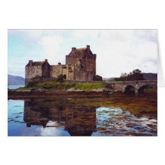 Castle Eilean Donan, Loch Duich, Scotland Card