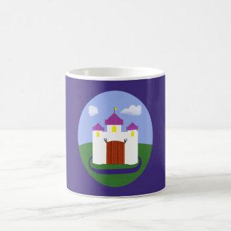 Castle Fairytale with Purple Turrets Classic White Coffee Mug