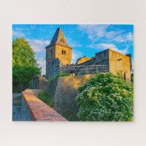 Castle Frankenstein Germany. Jigsaw Puzzle