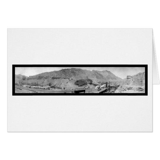 Castle Gate Utah Mining Photo 1913 Card