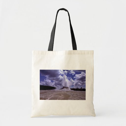 Castle Geyser, Yellowstone National Park Tote Bag