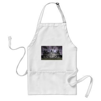 castle ghosts ruin gothic haunted abandoned adult apron