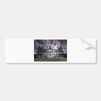 castle ghosts ruin gothic haunted abandoned bumper stickers