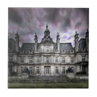 castle ghosts ruin gothic haunted abandoned tile