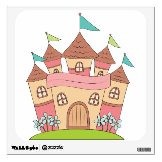 Castle Girls Wall Sticker