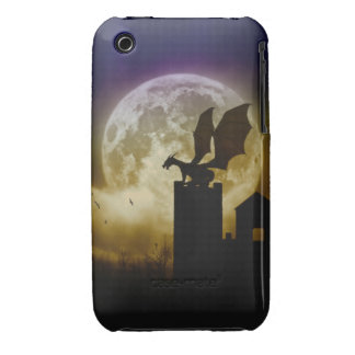 Castle Guardian Dragon  Iphone 3g Case/Cover Case-Mate iPhone 3 Case