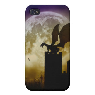 Castle Guardian Dragon Iphone 4 Case Cover Skin