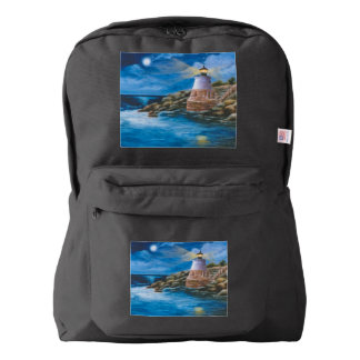 Castle Hill Lighthouse American Apparel™ Backpack