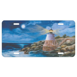 Castle Hill Lighthouse License Plate