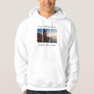 Castle Hill Lighthouse, Newport  Ladies Sweatshirt
