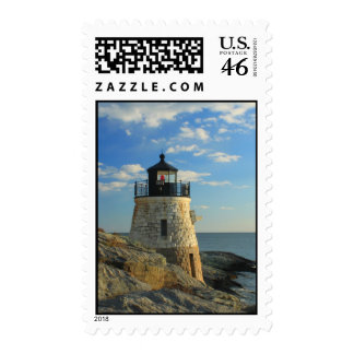 Castle Hill Lighthouse Newport Postage Stamp